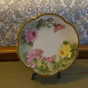 Vintage Limoges France Lanternier Porcelain Plate